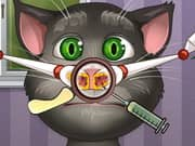 Juego Talking Tom Nose Doctor