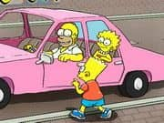 Juego The Simpsons Parking Game
