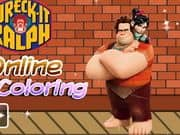 Juego Wreck it Ralph Online Coloring