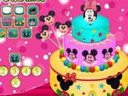 Juego Yummy Minnie Mouse Cake